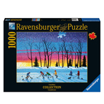 10092 - Ravensburger Canadian Collection Sundown and Stars - 1000 Pc Puzzle
