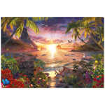10023 - Ravensburger Paradise sunset 18000 Piece Puzzle