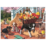 10417 - Jumbo Puppy Playtime 1000 Piece Puzzle
