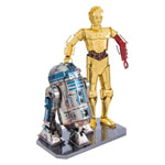 Metal Earth Star Wars Gift Box C3PO and R2D2