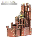 13739 - ICONX Game of Thrones Red Keep 3D Metal Model Kit
