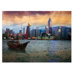 15305 - D-Toys Famous Places Hong Kong - 1000pc Puzzle (DT-460)