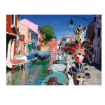 15300 - D-Toys Famous Places Burano - 1000pc puzzle (DT-455)