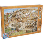14887 - D-Toys Cartoon Collection: Roman Amphitheatre 1000 PC Puzzle (DT-450)