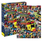 11302 - Aquarius DC Comics Batman Collage - 1000 Pc Puzzle