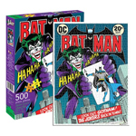 11305 - Aquarius DC Comics Batman Joker Comic Cover - 500 Pc Puzzle