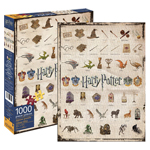 11301 - Aquarius Harry Potter Icons - 1000 Pc Puzzle