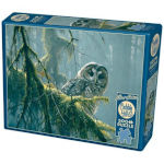 14750 - Cobble Hill Bateman Mossy Branches Spotting Owl 500 PC Puzzle