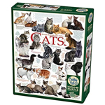 15907 - Cobble Hill Cat Quotes 1000 Pc Puzzle (80095)
