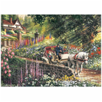 15918 - Cobble HIll Carriage Ride 275 Pc Puzzle (88028)