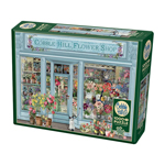 14877 - Cobble Hill Behr Parisian Flowers 1000 Pc Puzzle