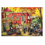 15258 - Trefl Canadian Artist Collection: Sunday at the Shop by Christine Genest - 1000pc Puzzle (622168)