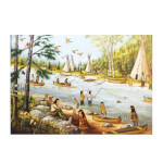 15259 - Trefl Canadian Artist Collection: He's Laughing - 1000 pc Puzzle (622205)