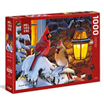 Trefl Cardinals on Snow Branch 1000 Pc Puzzle (642906)