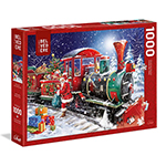 16212 - Trefl Santa's Train 1000pc (643606)