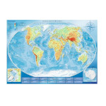 14989 - Trefl Physical Map of the World - 4000 Pc Puzzle