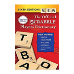 13973 - Book Scrabble Dictionary 6th Edition