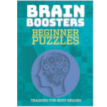 16355 - Brain Boosters Beginner Puzzles Book