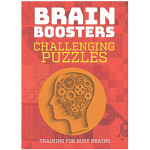 16354 - Brain Boosters Challenging Puzzles Book