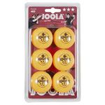 14184 - Joola Rossi 40mm 3 Star  Table Tennis Balls 6 Pack