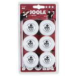 14227 - Joola Rossi 3 Star 40mm Table Tennis Balls 6 Pack