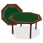 8669 - Kestell 52'' Folding Poker Table
