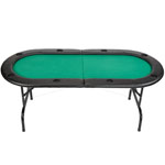7ft Texas Hold'em Folding Poker Table