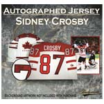 Sidney Crosby Signed Team Canada Pro 2010 Olympic Jersey