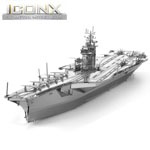 11859 - Iconx 3D Metal Modle Kits - USS Theodore Roosevelt CVN-71