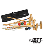Jett 6 Player Tournament Croquet Set in Canvas Bag