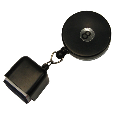200179-Chalk Holder Retractable Deluxe with Belt Clip