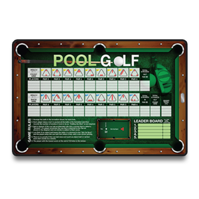 F G Bradley S Billiard Games Pool Golf Game