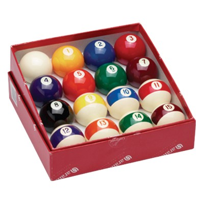 210003-Continental 2 1/4'' Pool Ball Set