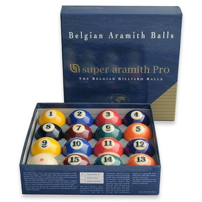 210004-Aramith Super Pro 2 1/4'' Pool Ball Set