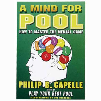 225009-A Mind for Pool Book by Phil Capelle
