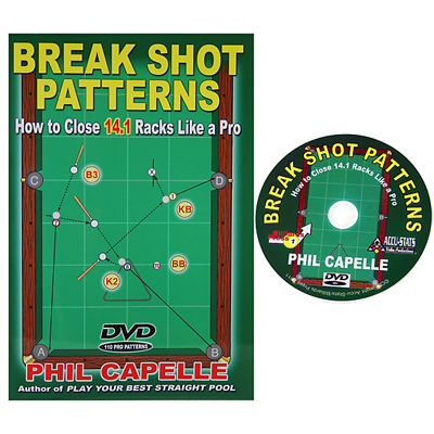 225014-Break Shot Patterns - Book and DVD