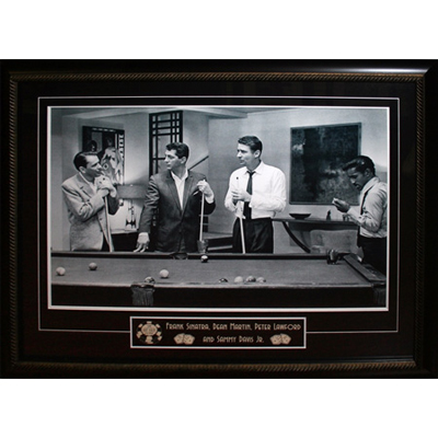 255004-The Rat Pack - Large Wooden Framed Picture