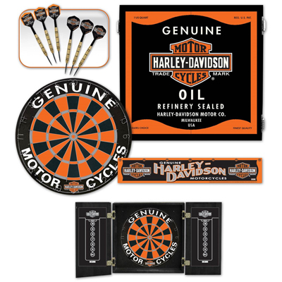 Beau 510070 Harley Davidson® Oil Can Darts Kit