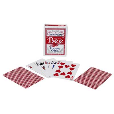600043-Bee Standard Index Playing Cards - Single Deck