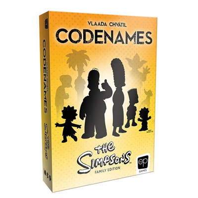 700133-Codenames: The Simpsons - NEW
