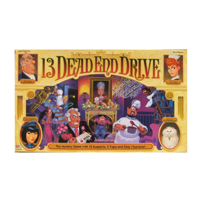 700671-13 Dead End Drive Family Game