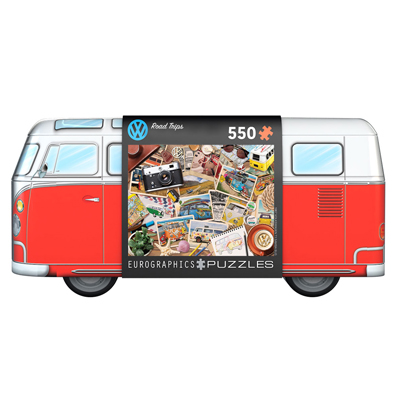 772122-EuroGraphics VW Tin: Road Trips 550-Piece Puzzle