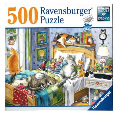 773275-Ravensburger Cat Nap 500PC Puzzle