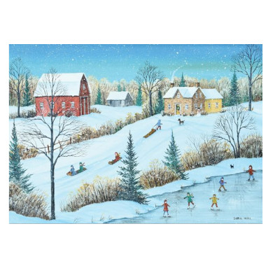 778907-Trefl Canadian Artist Collection: Family Party by Mark - 1000pc Puzzle (622243)