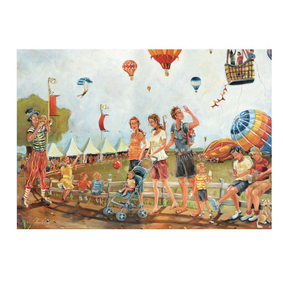 778923-Trefl Canadian Artist Collection: In Full Flight by Kim Veilleux - 500 Large Piece Puzzle (580253)