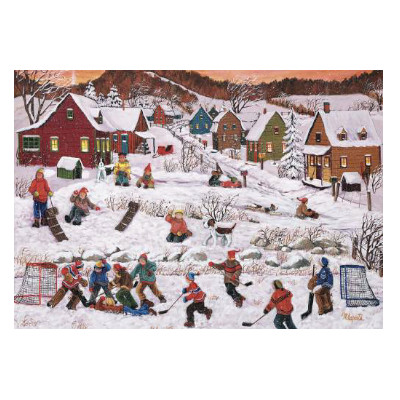 778934-Trefl Canadian Artist Collection: After School by Nicole Laporte - 1000 pc puzzle (670428)
