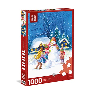 778943-Trefl Pleasant Snowman 1000pc Puzzle (643101)