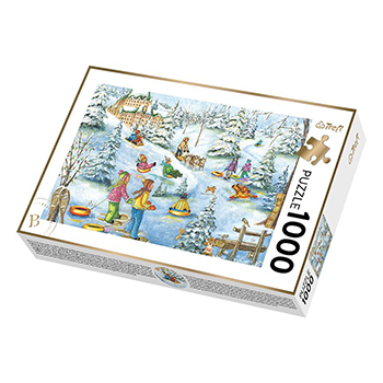 779040-Trefl C. Genest - Snow Castle 1000pc (670541)