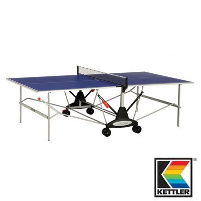 840011-Kettler Stockholm GT Indoor Blue Table Tennis / Ping Pong Table