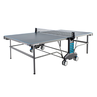 840030-Kettler Outdoor 6 Table Tennis Table with Bonus Bundle
